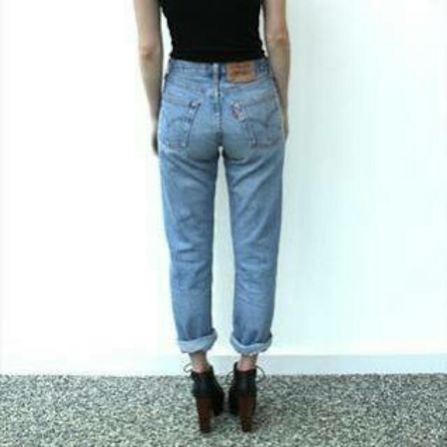 Vintage Levi High waist Jeans