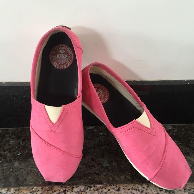 WAKAI Pretty Pink Suede