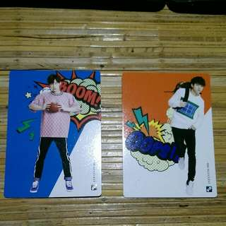 Infinite Official Collection Card Vol 2 Normal Card 059 - Sungkyu 062 - Woohyun