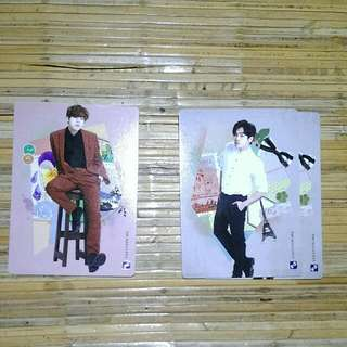 Infinite Official Collection Card Vol 2 Normal Card  081 - Dongwoo 084 - Hoya ( Quantity:2)