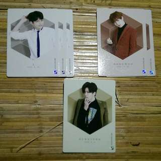 Infinite Official Collection Card Vol 2 Normal Card 099 - L (Quantity:3) 102 - Dongwoo (Quantity:2) 103 - Sungjong