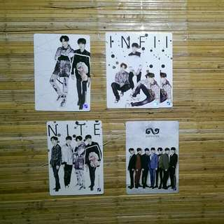 Infinite Official Collection Card Vol 2 Normal Card 127  130 (Quantity:2) 131 132