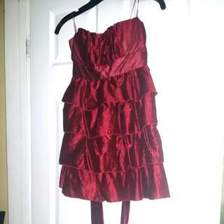 F21 Dark red Party dress. Size S