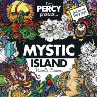 Percy Mystic Island acoloring book