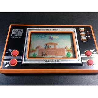 Nintendo Game & Watch Fire Attack