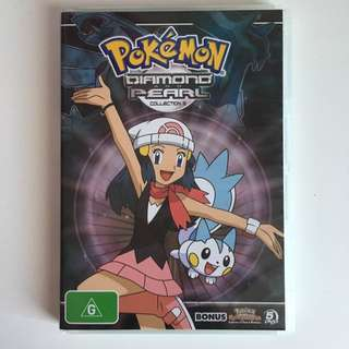 Pokemon Diamond & Pearl Collection 2 5DVD