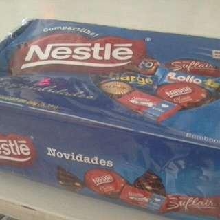 🚚 巴西雀巢綜合口味巧克力糖盒