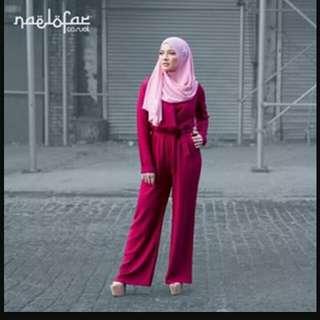 naelofar jumpsuit like new