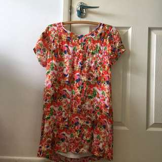 Here Comes The Sun colourful dress