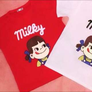 ✨Popular Japanese Milky Tee (red)✨