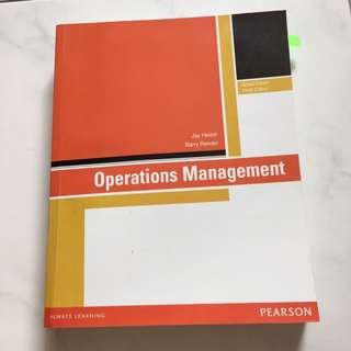 Operation Management - Global / Tenth Edition