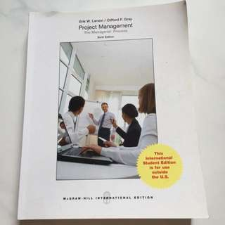 Project Management - Sixth Edition