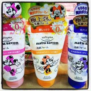 日本KOSE 米妮聯名款洗面乳