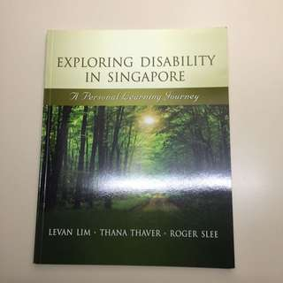 Exploring Disability In Singapore