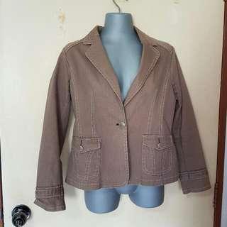 BNWOT Bega Blazer / Denim Jacket