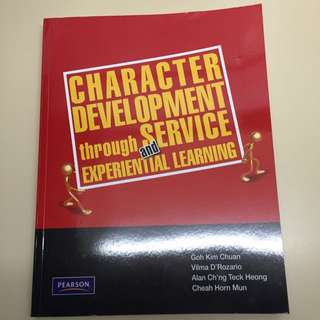 Character Development Through Service And Experiential Learning