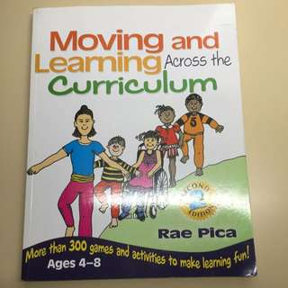 Moving And Learning Across Curriculum
