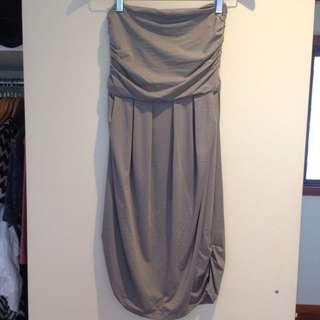 Kookai Strapless Dress - Size 2