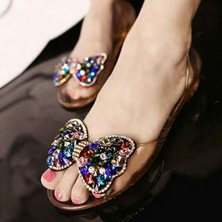 Flat Jelly Shoes