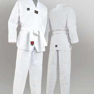 White Taekwondo Robe (Full Set)