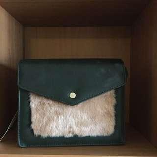 Lowrys Farm Fur Lined Side Bag