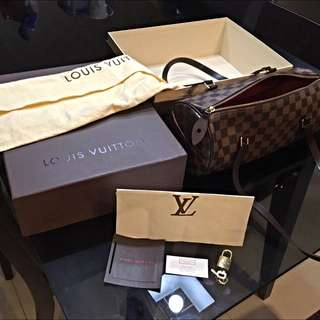 Louis Vuitton Papillon 30 Damier Ebene Canvas