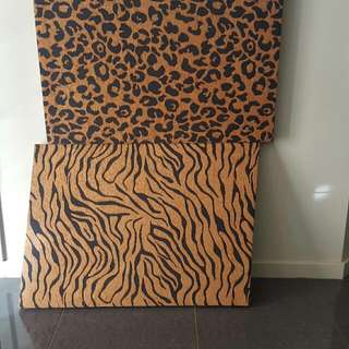 Animal Print Cloth Canvas