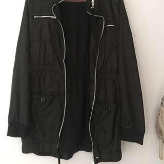 Black Windbreaker / Jacket
