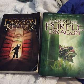 Dragon Keeper and Garden Of The Purple Dragon by Carole Wilkinson