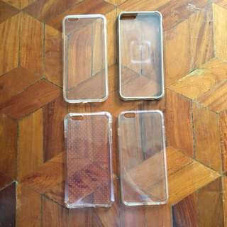 (from HK & US) iPhone 6/s+ Clear Case/Bumper Bundle
