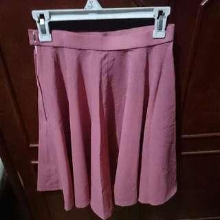 Skirt Pink Leaf