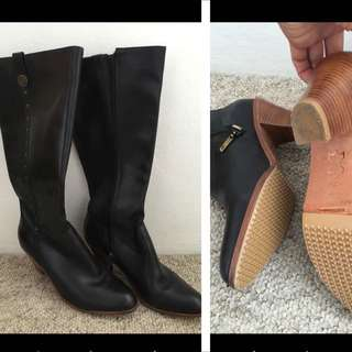 Good Quality Leather Boots (made In Brazil)