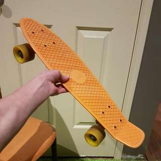 Orange Penny Board