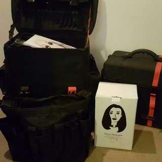 Makeup Artist Tas Merah Cases + More