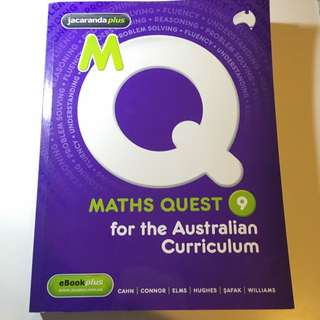 Maths Textbook For Australian Curriculum