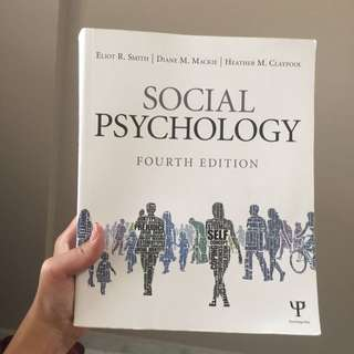 PL3235: Social Psychology (Fourth Edition)