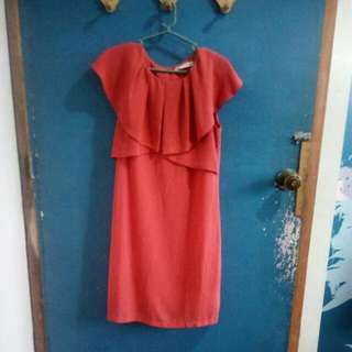 REPRICED Pd. And Co Plain Drape Dress