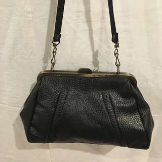 Vintage Looking Black Bag