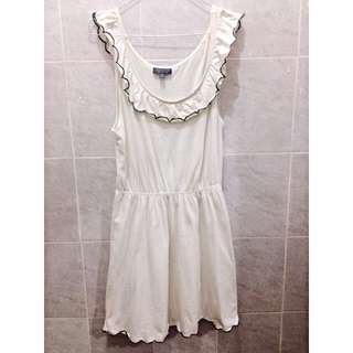 Topshop Broken White Dress
