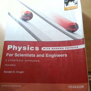 Phisics with modern physics (Randall D.Knight, Pearson)