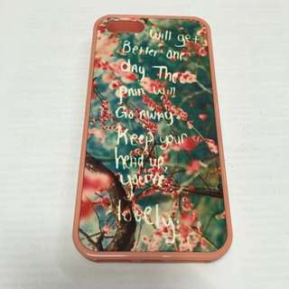 iPhone 5S Flower Casing