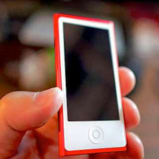 ON HOLD IPod Nano RED 7TH GEN