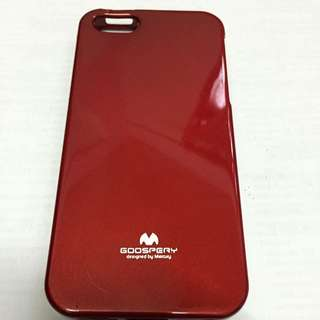 iPhone 5S Red Shiny Casing
