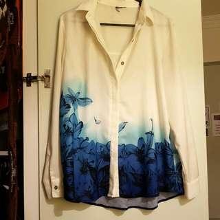 Silk Semi-Formal Shirt