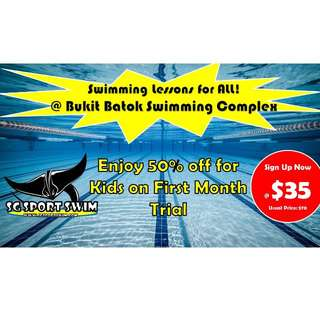 Bukit Batok Swimming Lesson