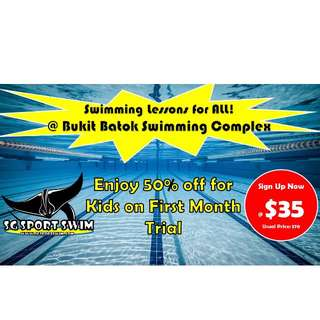 Bukit Batok Swimming Classes