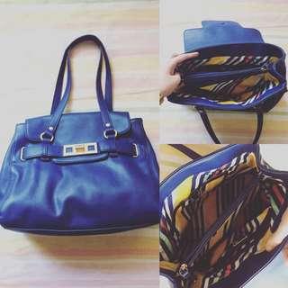 NINEWEST blue shoulder bag