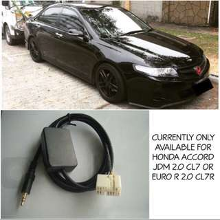 Honda Accord CL7A / CL7R Aux Cable