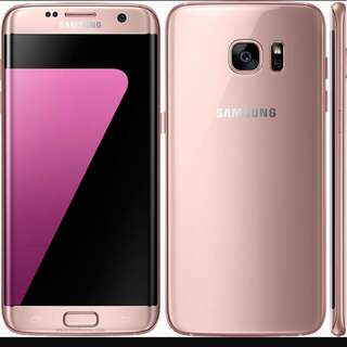 WTB Looking for Samsung S7 Edge Pink Gold Only