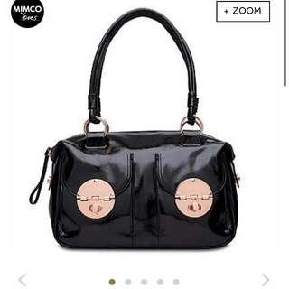 Mimco Turnlock Handbag